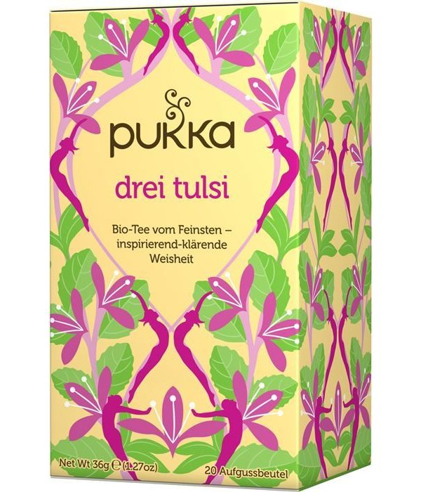 Pukka Pukka - 'Drei Tulsi' Bio-Tee, 20 Blt