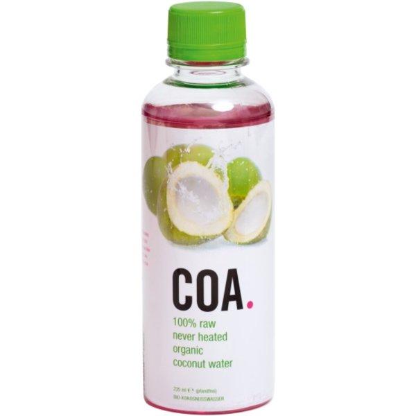 COA - 100% RAW Bio Coconutwater, 12x 235ml