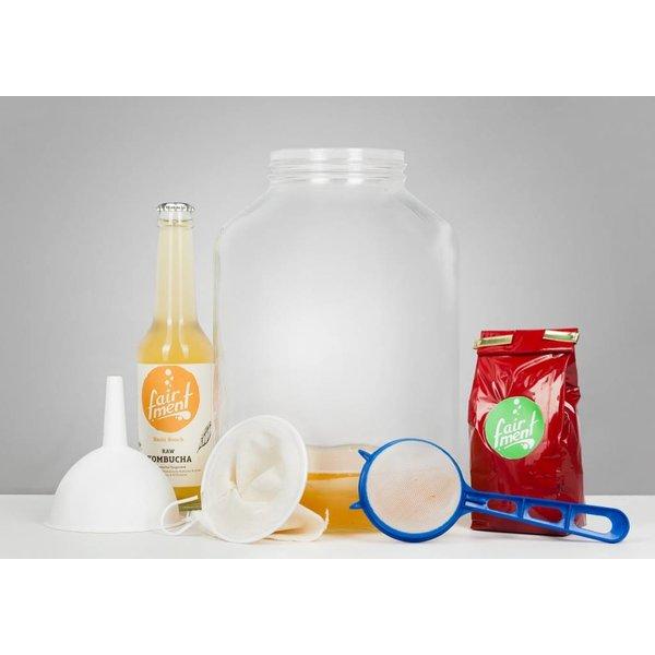 Fairment - Kombucha Komplett-Starter-Set, für 5 Liter