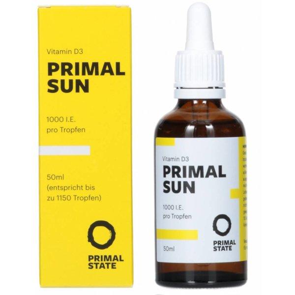 PRIMAL SUN - Vitamin D3 drops (1,000 IU)