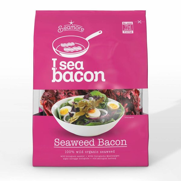 I sea bacon - Algen Bacon / Speck, 10 Portionen, 75g