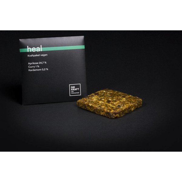 Kraftriegel HEAL, 50g, vegan