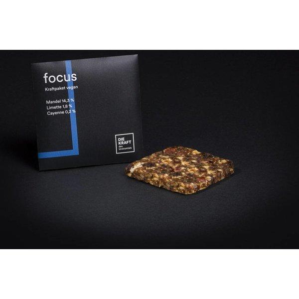 Kraftriegel FOCUS, 50g, vegan