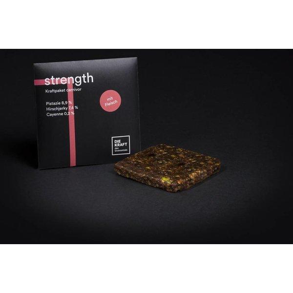 Kraftriegel STRENGTH, 50g, mit Fleisch