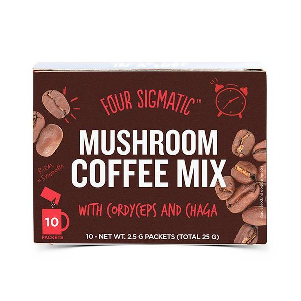 Mushroom Coffee with Cordyceps - Foursigmatic  - Copy
