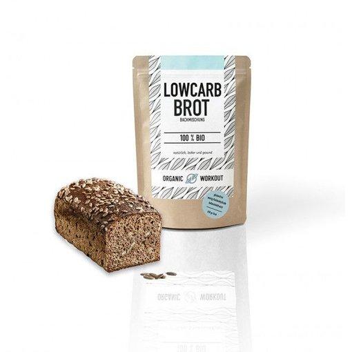 Organic Workout Organic Workout - Bio Low Carb Brotbackmischung, 300g