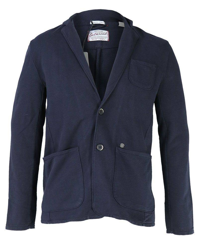 Dstrezzed 111101 49 Dstrezzed Knitted Blazer Sweat Dk. Navy