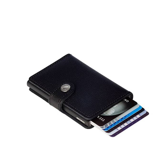 Secrid MC  Secrid Miniwallet Crisple Black