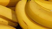 Banaan in bruine suiker en Malibu