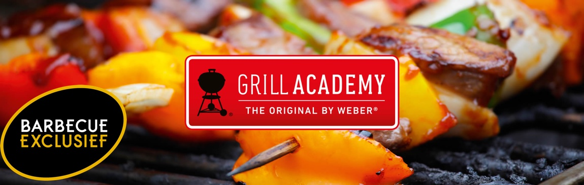 Grill-Academy barbecue exclusief