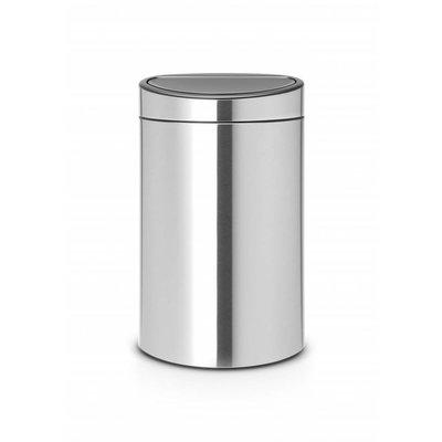 Brabantia Touch Bin - afvalverzamelaar - 40 liter - matt steel