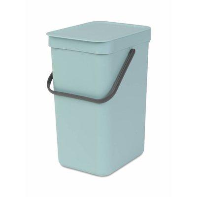 Brabantia Sort&Go afvalemmer - 12 liter - mint