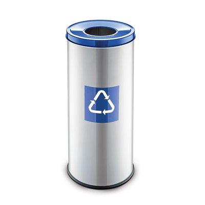 Easybin Eco flex round - 45 liter - blue
