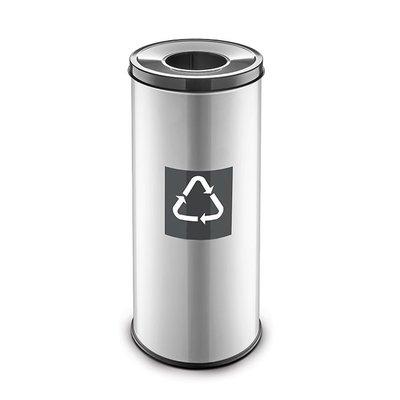 Easybin Eco flex round - 45 liter - grey