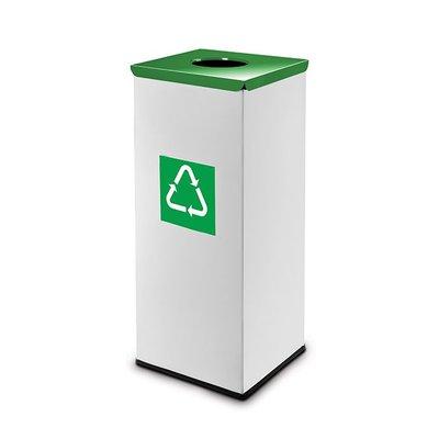 Easybin Eco flex square - 45 liter - green