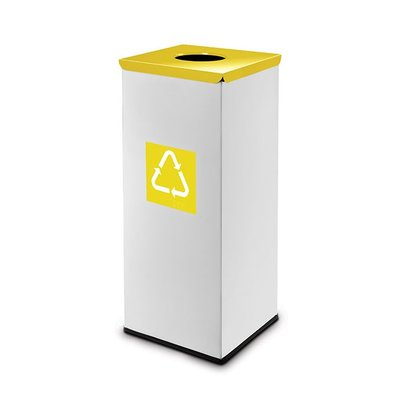 Easybin Eco flex square - 45 liter - yellow