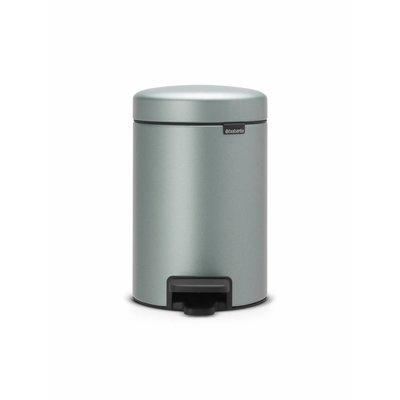 Brabantia Newicon pedaalemmer - 5 liter - metallic mint
