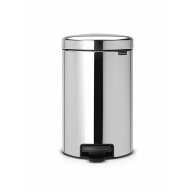 Brabantia Newicon pedaalemmer - 20 liter - matt steel