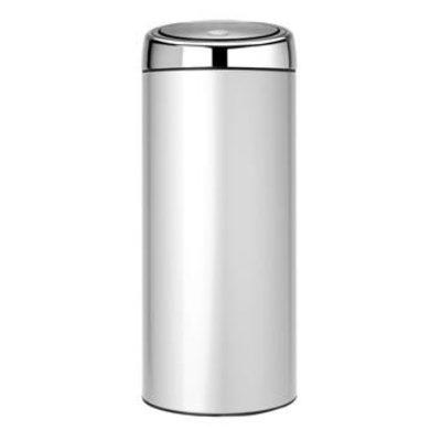 Brabantia Touch Bin - afvalverzamelaar - 30 liter - metallic grey