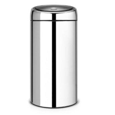 Brabantia Touch Bin - afvalverzamelaar - 2x20 liter - brillant steel