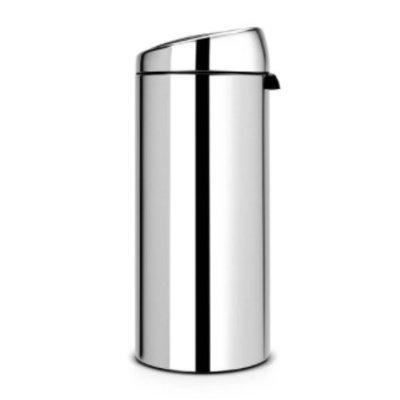 Brabantia Touch Bin - afvalverzamelaar - 30 liter - brillant steel