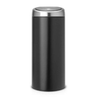 Brabantia Touch Bin - afvalverzamelaar - 30 liter - matt black