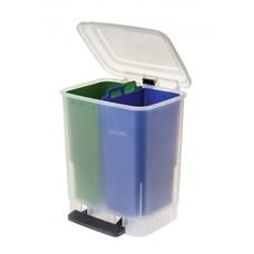 Faplana Recycle Bin Duo (2x10 liter) (Groen/Blauw)