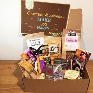 box buenobio cadeau - Chocolats & cookies