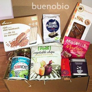 box buenobio cadeau - Sans gluten