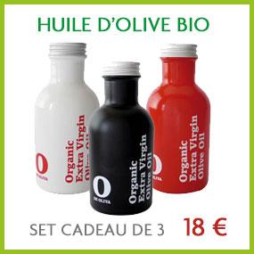 Huile olive bio O de Oliva