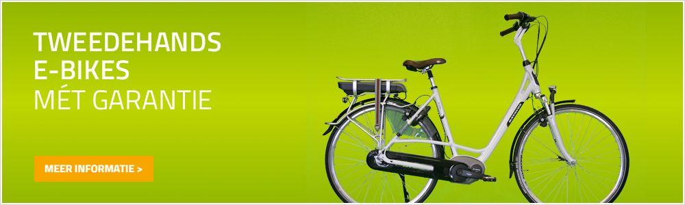 Tweedehands E-bikes met Garantie