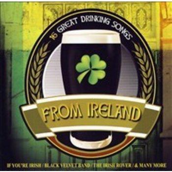 16 GREAT DRINKING SONGS FROM IRELAND - VARIOUS IRISH ARTISTS