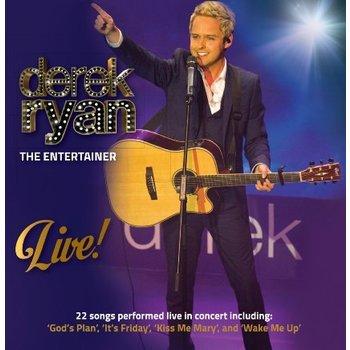 DEREK RYAN - THE ENTERTAINER LIVE (CD)