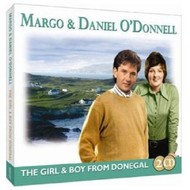 MARGO AND DANIEL O DONNELL - THE GIRL AND BOY FROM DONEGAL (CD)
