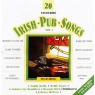 Dolphin Records,  20 FAVOURITE IRISH PUB SONGS, VOLUME 1 - VARIOUS ARTISTS