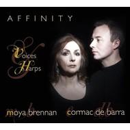 MOYA BRENNAN & CORMAC DE BARRA - AFFINITY: VOICES & HARPS (CD)