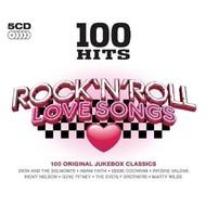 100 HITS - ROCK N ROLL LOVE SONGS (CD)...