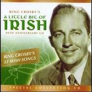 BING CROSBY - A LITTLE BIT OF IRISH (CD)...