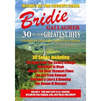 BRIDIE GALLAGHER - 30 GREATEST HITS (DVD)
