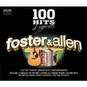 FOSTER AND ALLEN - 100 HITS LEGENDS (5 CD SET)