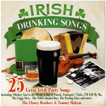 THE CLANCY BROTHERS AND TOMMY MAKEM - 25 GREAT IRISH PARTY SONGS (CD)