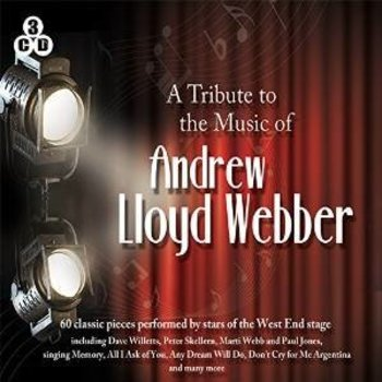 A TRIBUTE TO THE MUSIC OF ANDREW LLOYD WEBBER - VARIOUS ARTISTS from THE WEST END STAGE (3 CD SET)