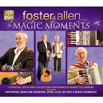 Demon Music Group,  Foster and Allen - Magic Moments (2CD / 1DVD Set)