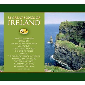32 GREAT SONGS OF IRELAND - VARIOUS IRISH ARTISTS