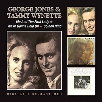 GEORGE JONES & TAMMY WYNETTE - ME AND THE FIRST LADY / WE'RE GONNA HOLD ON / GOLDEN RING