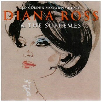 DIANA ROSS & THE SUPREMES - 40 GOLDEN MOTOWN GREATS (2CD'S)