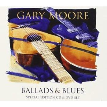 GARY MOORE - BALLADS AND BLUES  CD AND DVD SET
