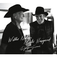WILLIE NELSON & MERLE HAGGARD - DJANGO AND JIMMIE (CD)