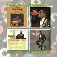 BGO Records,  CHARLEY PRIDE - 2CD SET: COUNTRY / THE COUNTRY WAY / PRIDE OF COUNTRY MUSIC/ MAKE MINE COUNTRY
