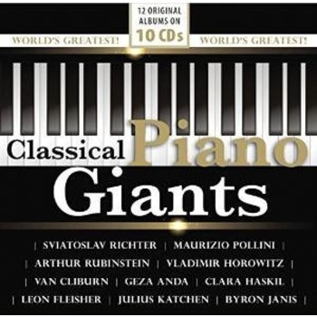 CLASSICAL PIANO GIANTS  (10CD'S)